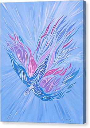 Canvas Print featuring the painting He Brings Healing by Lula Adams