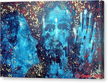 He Came To Me In My Dream Canvas Print