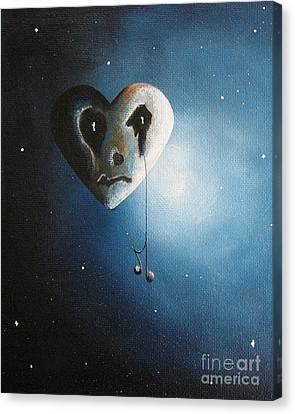 He Cried A Song For You Today By Shawna Erback Canvas Print by Shawna Erback