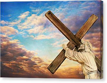He Has Risen Canvas Print by Darren Fisher