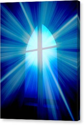 He Is Risen Canvas Print by Aurelio Zucco