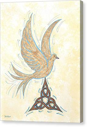 He Set Us Free Canvas Print by Susie WEBER