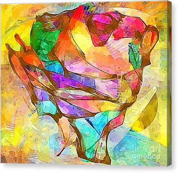 Head  0371 Marucii Canvas Print by Marek Lutek
