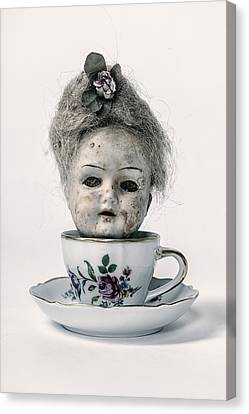 Head In Cup Canvas Print by Joana Kruse