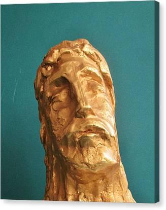 Head Of Christ 2014 Canvas Print