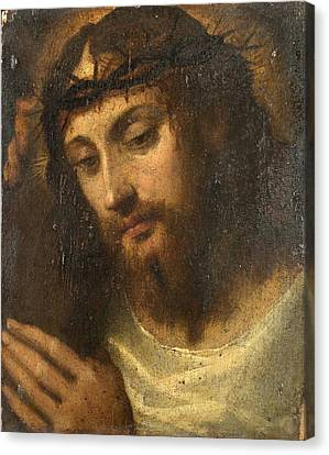 Head Of Christ Canvas Print by Sodoma