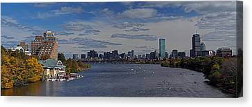 Head Of The Charles Regatta Canvas Print by Juergen Roth