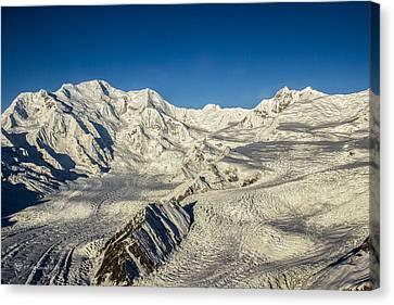Head Of The Kennicott Glacier Canvas Print