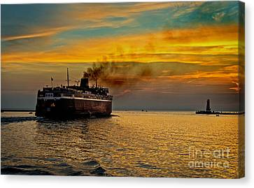 Headed West Canvas Print by Randall  Cogle