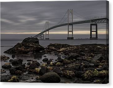 Heading For Newport Canvas Print