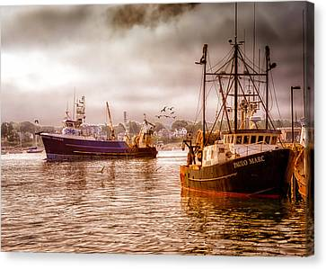 Heading Out Canvas Print by Bob Orsillo