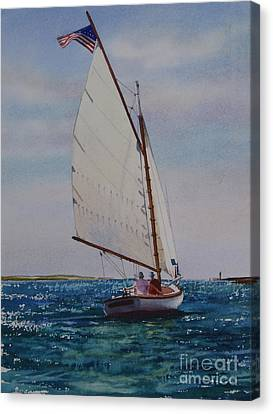 Heading Out Canvas Print by Karol Wyckoff