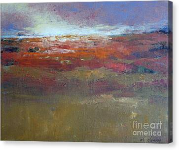 Heading West 6 Canvas Print by Melody Cleary