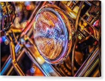 Headlamp Canvas Print by Dobromir Dobrinov