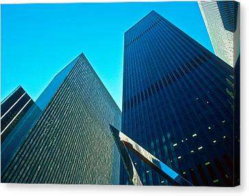Headquarters In Midtown Manhattan Canvas Print
