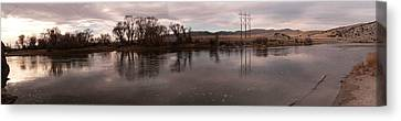 Headwaters Of The Missouri River Canvas Print by David Bearden