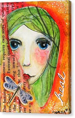 Heal Canvas Print