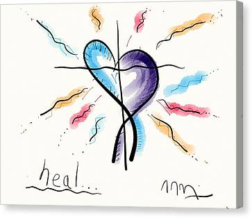 Heal... Canvas Print