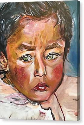 Heal The World Canvas Print