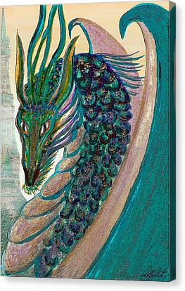 Healing Dragon Canvas Print