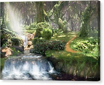 Healing Light Within Canvas Print
