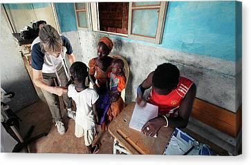 Senegal Canvas Print - Health Clinic by Thierry Berrod, Mona Lisa Production