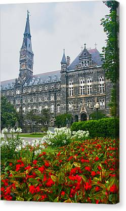 Healy Hall Canvas Print by Mitch Cat