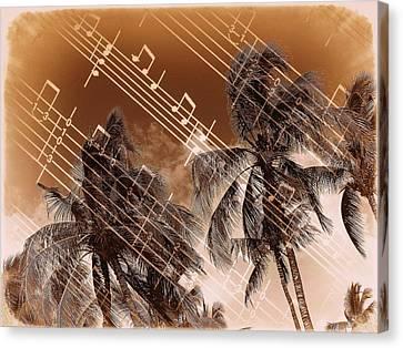 Hear The Music Canvas Print