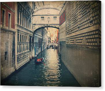 Famous Bridge Canvas Print - Hear The Sighs by Laurie Search