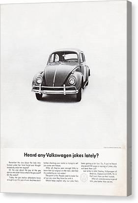 Heard Any Good Volkswagen Jokes Lately Canvas Print by Georgia Fowler