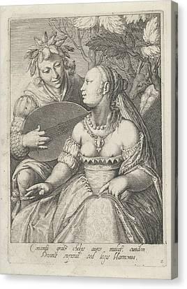 Hearing, Cornelis Boel, Anonymous Canvas Print by Cornelis Boel And Anonymous