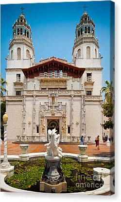 Hearst Castle Canvas Print by Inge Johnsson