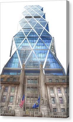 Hearst Tower - Manhattan - New York City Canvas Print by Marianna Mills