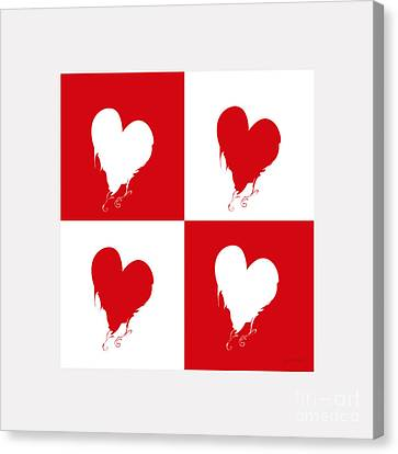 Extraordinary Heart For You M3 Canvas Print by Johannes Murat