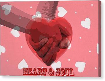 Heart And Soul Canvas Print by Dan Sproul