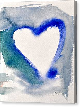 Heart And Soul Canvas Print by Kimberly Maxwell Grantier