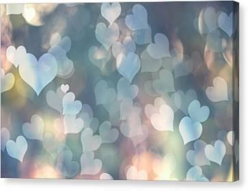 Heart Background Canvas Print