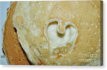Heart Cakes Canvas Print by Mindy Bench