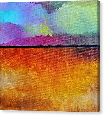 Canvas Print featuring the painting Heart Call by Christine Ricker Brandt