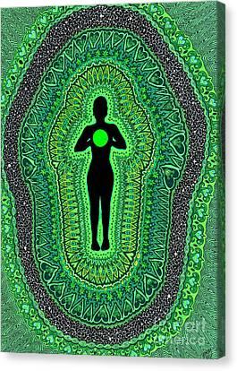 Heart Chakra Anahata Canvas Print