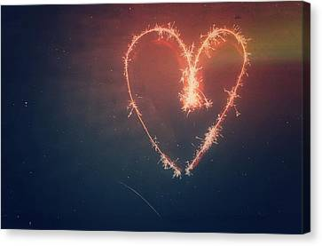 Heart Canvas Print by Daniel Precht