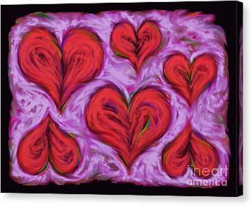 Heart Drift Canvas Print by Keith Mills