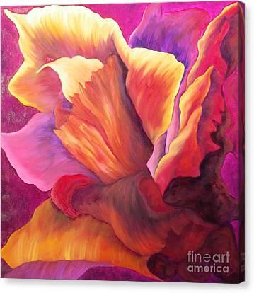 Heart Fire Canvas Print