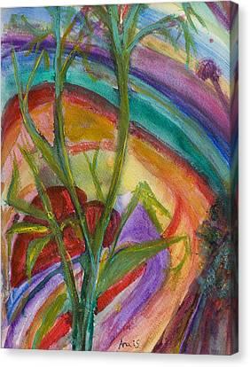 Heart Hidden  Canvas Print by Anais DelaVega