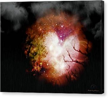Heart Planet Canvas Print