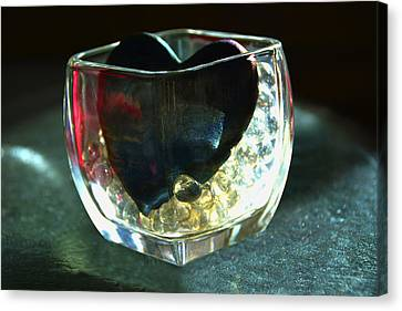 Heart Of Glass  #3  Canvas Print