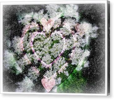 Heart Of Hearts Canvas Print by Kay Novy
