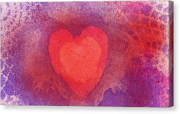 Heart Of Love Canvas Print
