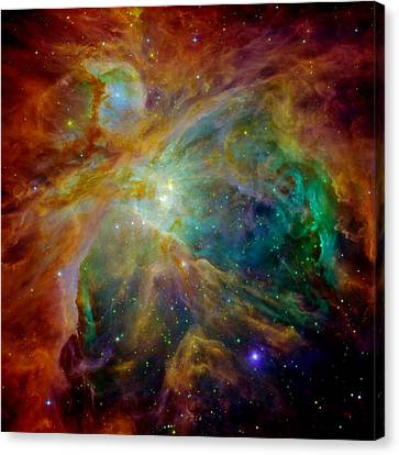Heart Of Orion Canvas Print by Benjamin Yeager