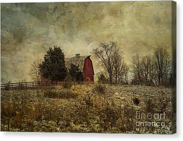Heart Of The Farm Canvas Print by Terry Rowe